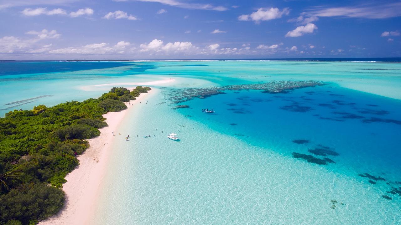 Foto met Drone Malediven